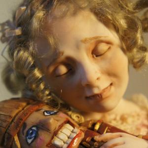 Лепка куклы из пластика мимика